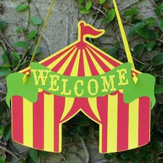 circus tent SIGN - Google Search