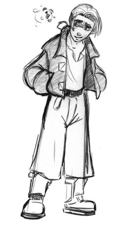 Living Lines Library: Treasure Planet (2002) - Character Design