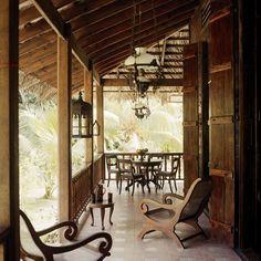 Aux Seychelles, une authentique case créole