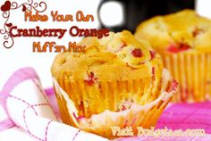 Cranberry Orange Muffin Mix