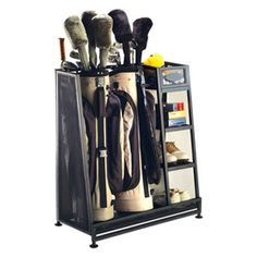 Tau Golf Bag Organizer - How is this for being organized?  Perfect gift for any golfer in your life be it man or woman!