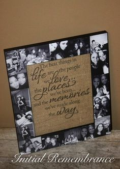 Valentines Day Picture Frame Collage Photo by InitialRemembrance