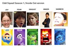 Odd Squad Season 1 / Inside Out version by zoomaster822