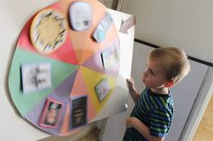 "Apples 4 Bookworms: ""Wheel of Wonder""~ DIY Spin the Wheel Game"