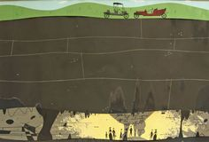 "Charley Harper - ""Mammoth Cave"""