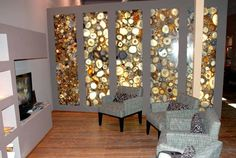 Someday I'll have a wall made out of agates. guessing self leveling resin poured over agates in molds?