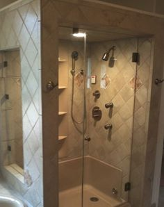 showers | Frameless Showers | Ideal Mirror and Glass
