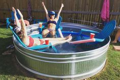 Stock Pools, Stock Tank Pool, Outside Living, Outdoor Living, Cumberland River, Outdoor Ideas, Outdoor Decor, Diy Pool, Pool Landscaping