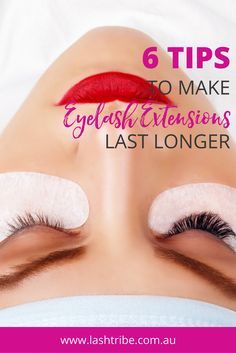 TOP 6 reasons why your retention might suck: If your room and your lash room are super humid, the faster the glue will set. If you work in a room that is totally humid and you're not working fast enough to dip and get the lash on, then you will find that the client will most likely lose the lashes within the next two to four days. Click on the image for more tips! | How to Clean Your Eyelash Extensions | Lashes Care Tips