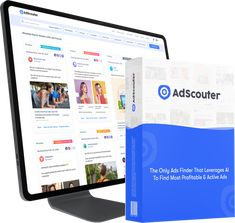 AdScouter AI Software. Find the most profitable Facebook and Instagrams Ads and Use It for Your Businesses. #adscouter #facebookads #instagramads Facebook Instagram, Spy Tools, Advertising Tools, Search Ads, Competitive Analysis, Social Media Services, Best Ads, Marketing Automation