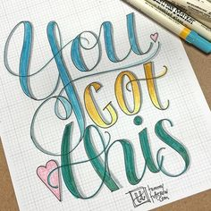 More lettering and coloring. I am on a serious roll today! 4/19 #letteritapril…