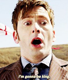The moment I realized David Tennant could still play his Doctor. Like riding a bike for him.