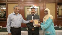 Dr. Hassanmairo receiving certificate of Fellowship in minimal access Surgery at World Laparoscopy Hospital. For more detail please log on to www.laparoscopyhospital.com