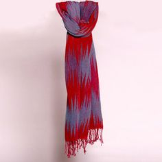 Multi Pleated Zig Zag Red now featured on Fab.