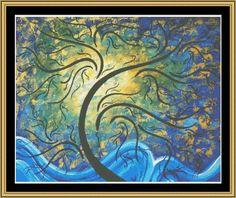 Forward Reaching [MADART-17] - $16.00 : Mystic Stitch Inc, The fine art of counted cross stitch patterns