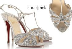 Picture of Christian Louboutin Wedding Shoes