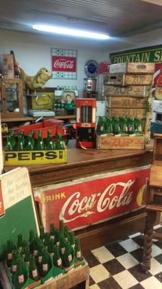 CocaCola memorabilia. Just in at TNJ.