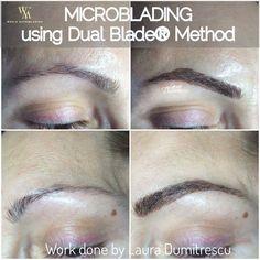 Microblading Perfect eyebrows Eyebrows tattoo Natural lifting effect Sprancene perfecte  Tatuaj cosmetic Tatuare sprancene fir cu fir