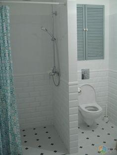 Small Bathroom Redo, Simple Bathroom, Modern Bathroom, Home Room Design, Bathroom Interior Design, Kitchen Design, Small Toilet, Ideas, Small Shower Bathroom