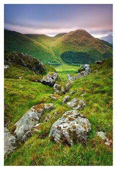 The Highlands, Ben Donich, Scotland photo via rachel