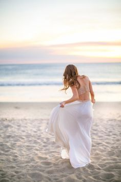 Beach life | Strand Spaziergang in der Abendsonne - das Leben ist schön ♡
