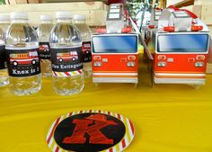 Fire Trucks Birthday Party Ideas | Photo 13 of 14 | Catch My Party