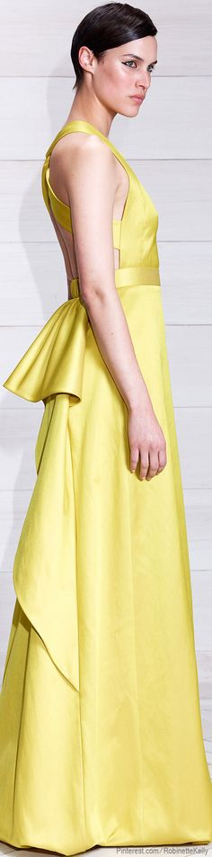 Jason Wu Resort 2014.- kinda like the dress from How to Lose a Guy in 10 Days!