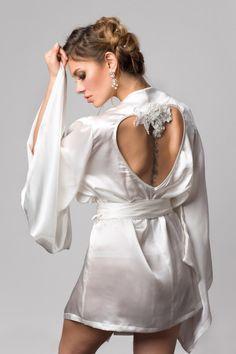 LaLilouche Alexina Silk Kimono (S-XXL)