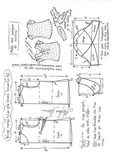 Blusa manga tulipan. Marlene Mukai - patrones. Visite o post para mais.