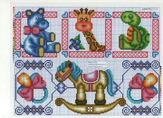 Brinquedos Door Picture Frame, Hama Beads, Cross Stitch Patterns, Safari, Kids Rugs, Embroidery, Comics, Toys, Toddlers