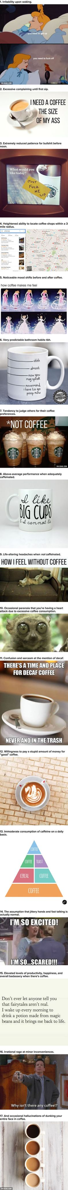 17 Symptoms You Have Experienced If You Are A Coffee Addict
