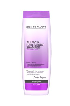 All Over Hair & Body Shampoo by Paula's Choice - safe for color-treated hair //// No-hassle shipping to Canada for a flat-rate. #fragrancefree #unscented #scentfree