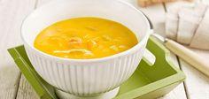 Sopa de Cenoura e Feijão-verde