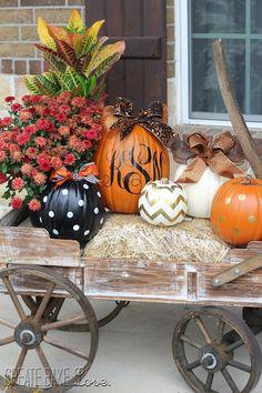 Decorated Pumpkins  Create. Bake. Love.: Happy Birthday Kristen!