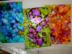 yupo paper and alcohol inks