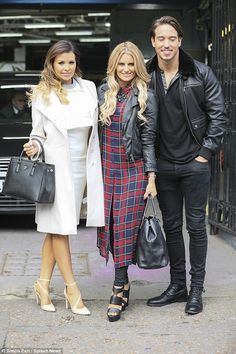 Doing their thing! Jessica Wright was joined by co-stars Danielle Armstrong and James Lock...