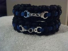 Hey, I found this really awesome Etsy listing at https://www.etsy.com/listing/174892861/police-thin-blue-line-paracord-bracelets