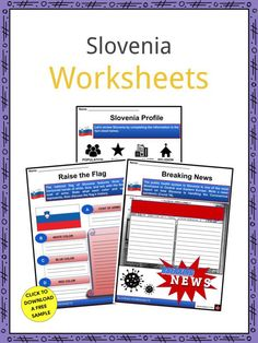 This is a fantastic bundle which includes everything you need to know about the Slovenia across 21 in-depth pages. These are ready-to-use Slovenia worksheets that are perfect for teaching students about the Slovenia which is a Central European nation at the intersection of the major European cultural and commercial routes. It spans 20,273 km2 (7,827 sq mi) and has a population of 2,084 million. Ljubljana is its capital and largest city. Serbo Croatian, Gypsy Culture, Geography Worksheets, Central And Eastern Europe, Political System, Head Of State, Primary Education, Slovenia, Curriculum