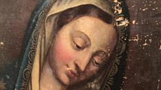 The Restoration of Mother Mary Art Careers, Old Paintings, Mother Mary, Try It Free, Art History, Restoration, Fine Art, Artist, Random