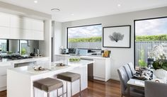 Nobby Kitchens has been supplying quality kitchen designs for over 65 years. For quality kitchen cabinets Nobby Kitchens has always been, and still is, the smart choice for smart people. Kitchen Cupboard Doors, Storey Homes, Custom Home Designs, Quality Kitchens, Hanging Rail, New Home Builders, Display Homes, Kitchen Photos, Home Kitchens