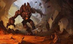 Malphite - League of Legends by KangJason.deviantart.com on @deviantART