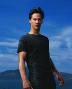 This image of Keanu Reeves inspired me as I created my Chinese-Canadian character, the astronaut/paleontologist Harry Wong, one of the heroes of Dragon Dawn.