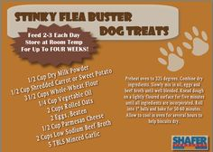 Use these treats to keep your pet flea free this summer!! #PETS #DOGS #SUMMER #DIY