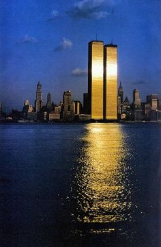 We will never forget. .... no, not ever..... the new building will never look this glorious in the setting sun......