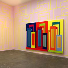 Peter Halley (b1953) read Josef Albers's Interaction of Color (1981), which would influence him throughout his career, Halley's writings became the basis for Neo-Geometric Conceptualism (also known as Neo-Geo), the offshoot of Neo-Conceptualism associated with the work of Ashley Bickerton, Halley, and Jeff Koons,