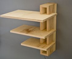The best DIY projects & DIY ideas and tutorials: sewing, paper craft, DIY. Best DIY Furniture & Shelf Ideas 2017 / 2018 Unique DIY Book Shelves - These would look cool in the library! Wooden Shelves, Floating Shelves, Wood Shelf, Wall Shelves, Floating Drawer, Plywood Shelves, Box Shelves, Floating Nightstand, Wall Mounted Bedside Table