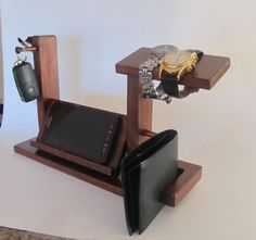 Universal Phone Dock Valet Eyeglasses and Watch by ImproveResults