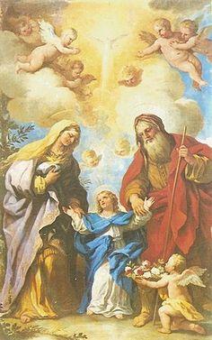 Oración a San Joaquin y Santa Ana.