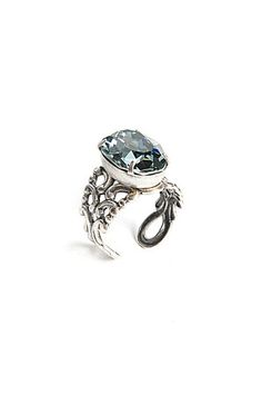 Ring in Silver/ Saphire