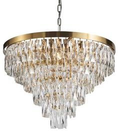 Shop for Six Tiers Gold Metal Chandelier With Clear Crystal Accents. Get free delivery On EVERYTHING* Overstock - Your Online Ceiling Lighting Store! Wrought Iron Chandeliers, Metal Chandelier, Chandelier Lighting, Park Lighting, Hanging Crystals, Transitional Wall Sconces, Cool Floor Lamps, Globe Lights, Light Shades